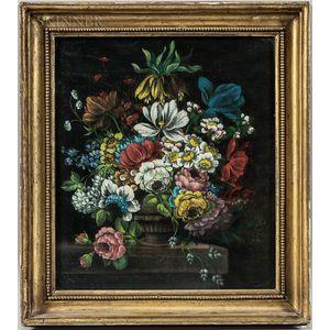 British School, 19th Century      Floral Still Life