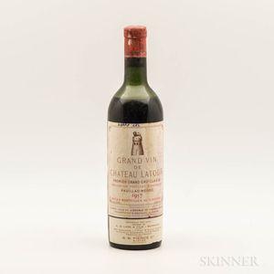 Chateau Latour 1957, 1 bottle