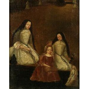 Spanish/Spanish Colonial School, 18th Century Style  Infanta