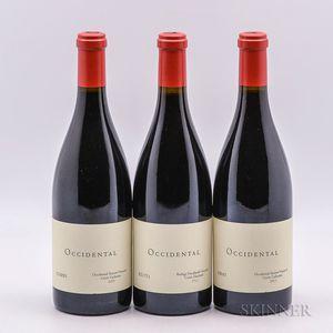 Occidental (Kistler) Pinot Noir Occidental Station Cuvee Catherine, 3 bottles
