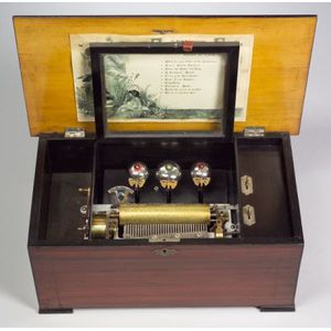 Three-Bell Musical Box for the British Market