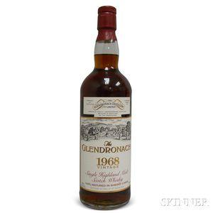 Glendronach 25 Years Old 1968, 1 750ml bottle
