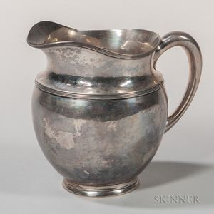 Woolley Sterling Silver Pitcher