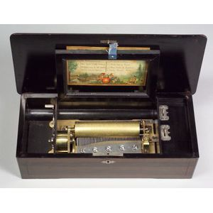 Lever-Wind Musical Box