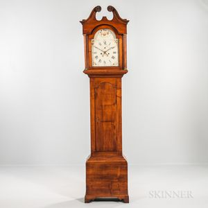 New Hampshire Stained Maple Tall Clock