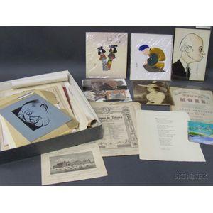 Collection of Miscellaneous Paper Ephemera
