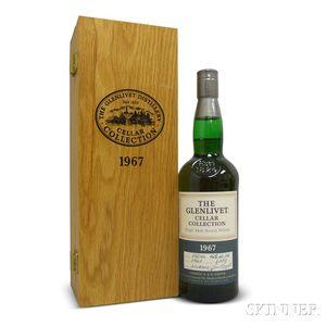 Glenlivet Cellar Collection 33 Years Old 1967, 1 750ml bottle (owc)