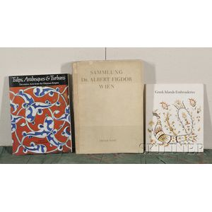 Seventeen Oriental Textile Books