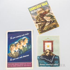 Three World War II Posters