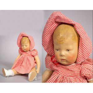 Early Kathe Kruse Girl Doll