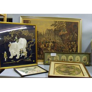 Small Group of Framed Images