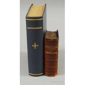 Gorlaeus, Abraham (1549-1608) Dactyliothecae, seu Annulorum Sigillarium