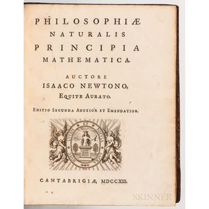 Newton, Sir Isaac (1643-1727) Philosophiae Naturalis Principia Mathematica.