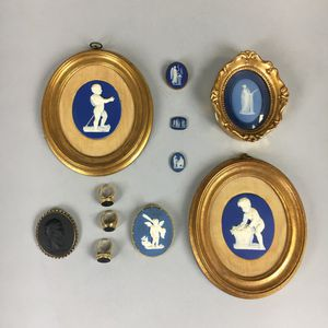 Eleven Wedgwood Medallions