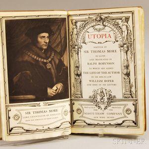 More, Thomas (1478-1535) Utopia
