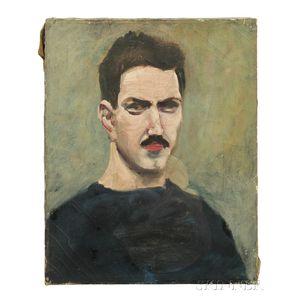 Alexander Calder (American, 1898-1976)      Self Portrait
