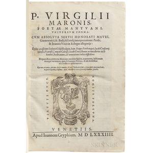 Virgil (70 BC-19 BC) Universum Poema.