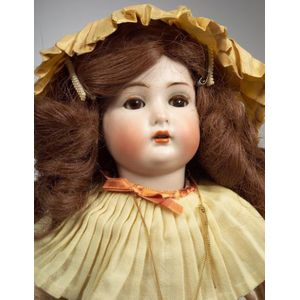 K*R 403 Bisque Head Girl Doll