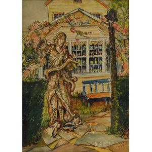 Dorothy H. Shurtleff (American, 20th Century)      Studio of Peter Hunt, Folk Artist, Cape Cod