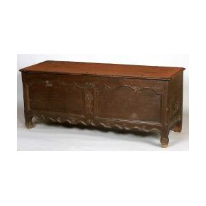 Louis XV Provincial Oak Blanket Chest