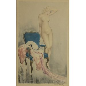 Louis Icart (French, 1888-1950)      Fair Model