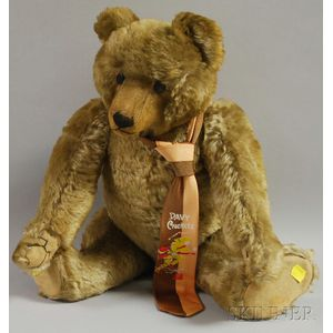 Steiff-type Mohair Teddy Bear