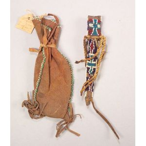Two Beaded Southern Plains Items