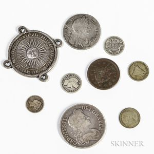 Small Group of Coins and Medals