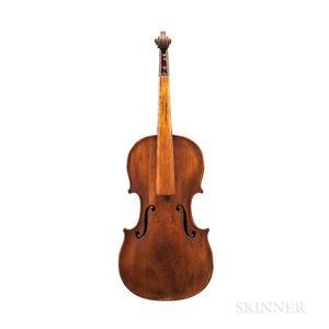 German Violin, Klingenthal, 19th Century