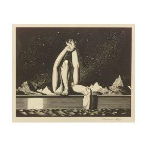 Rockwell Kent (American, 1882-1971)  Starlight