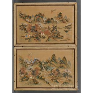 Pair of Paintings