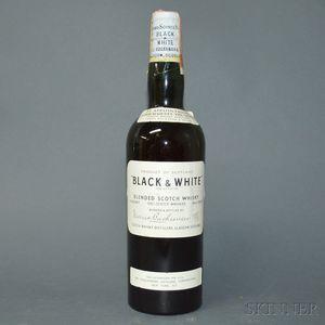 James Buchanan & Co. Black & White, 1 4/5 quart bottle