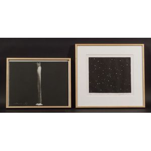 Joe Andoe (American, b. 1955)    Lot of Two Works: 4 C S (For Carl Sagan)