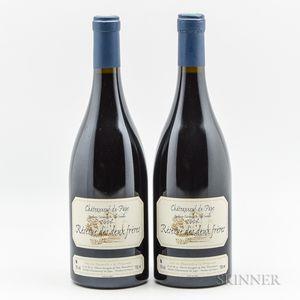 Pierre Usseglio Chateauneuf du Pape Reserve des Deux Freres 2006, 2 bottles