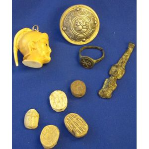 Group of Five Ancient and Classical Theme Items