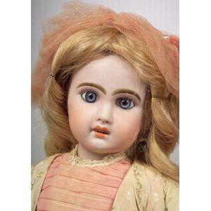 Bebe Jumeau Bisque Head Doll
