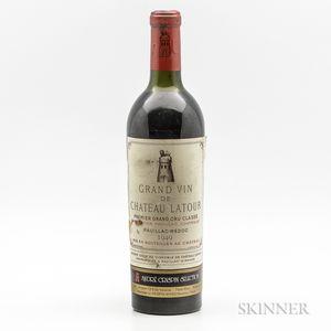 Chateau Latour 1949, 1 bottle