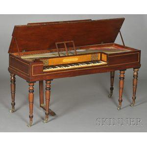 Georgian Mahogany Square Piano