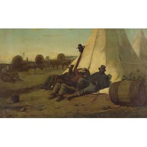 After Winslow Homer (American, 1836-1910)    ARMY TEAMSTERS.