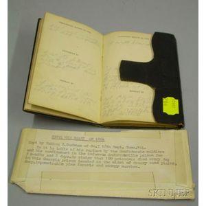 Civil War Diary of Mahlon D. Cushman