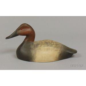 Canvasback Duck Decoy