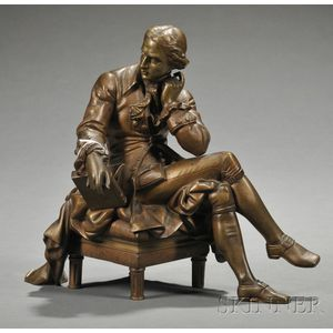 Bronze Figure of Alexander Hamilton