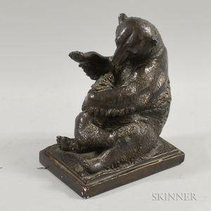 After Anna Vaughn Hyatt Huntington (American, 1876-1973)      Seated Bear and Cub