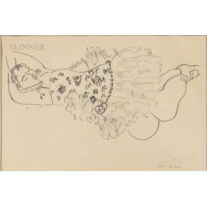 Henri Matisse (French, 1869-1954)      Danseuse endormie