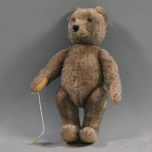 Steiff Articulated Mohair Bear with Growler