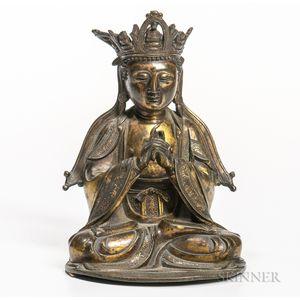 Gilt-bronze Statue of Guanyin