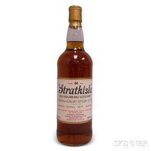 Strathisla 40 Years Old 1963, 1 750ml bottle