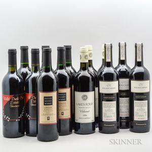 Mixed Worldwide Reds, 16 bottles