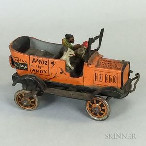 Marx Amos and Andy Lithographed Tin Taxi