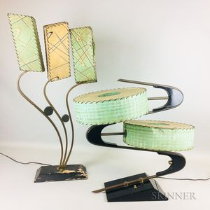 Two Majestic Z Table Lamps